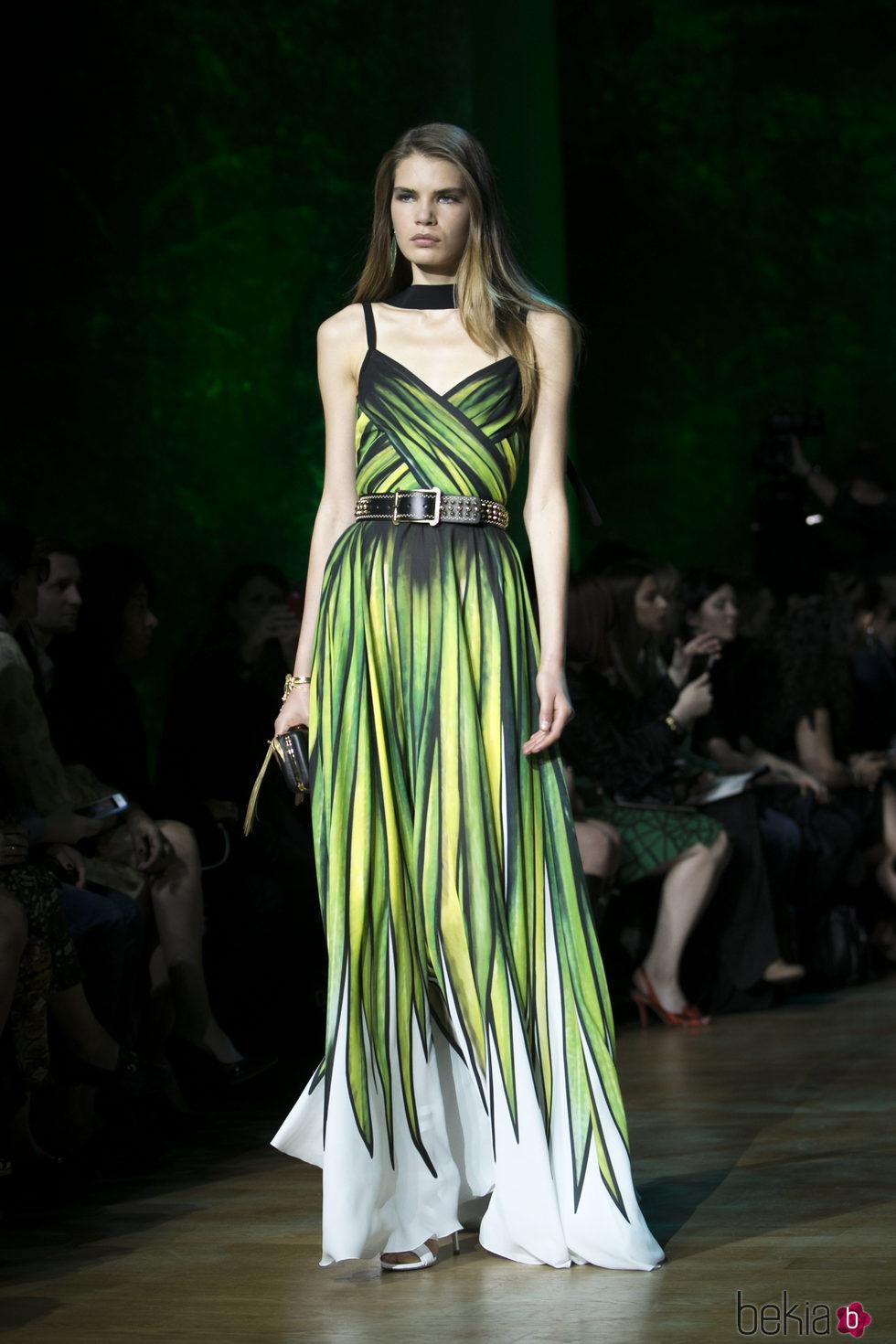 Vestido verde elie saab