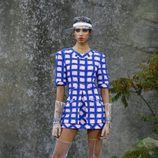 Vestido tweed de la colección primavera/verano 2018 de Chanel en Paris Fashion Week