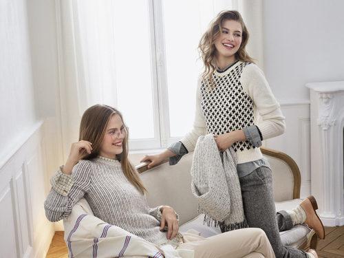 Jerseys con estampados nórdicos en la nueva colección de la temporada otoño/invierno 2017 de Uniqlo por Ines de la Fressange