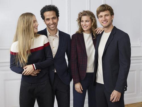 Línea de ropa masculina y femenina de la colección de Uniqlo temporada otoño/invierno 2017 por Ines de la Fressange