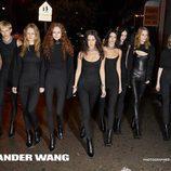 Equipo al completo de la campaña de otoño 2017 de Alexander Wang