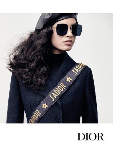 Gafas de son de lentes negras de Dior otoño/invierno 2017/2018