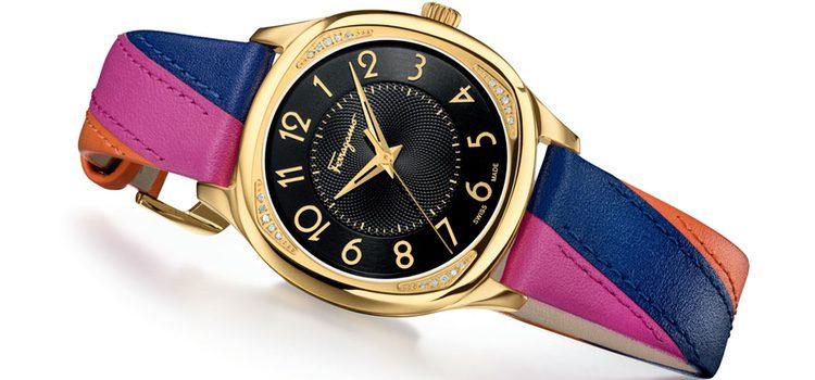 Reloj femenino de la colección 'Ferragamo time lady' de la firma Salvatore Ferragamo