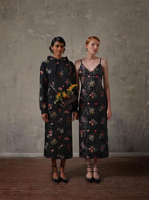 Vestidos con flores de la colección Erdem x H&M