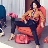 Selena Gómez en la campaña de su colección de bolsos de la temporada otoño/invierno 2017/2018 para Coach