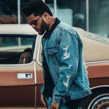 The Weeknd con chaqueta de la colección 'Puma x Xo'
