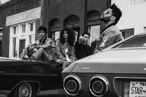Prendas masculinas y femeninas en la colección 'Puma x Xo' de The Weeknd
