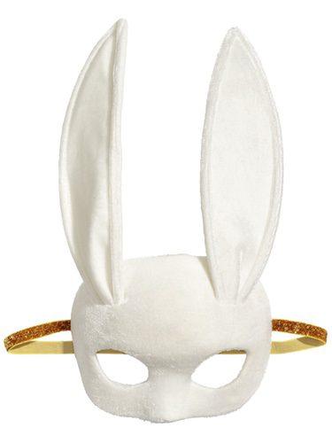 Antifaz con orejas de conejo de la colección especial Halloween de H&M