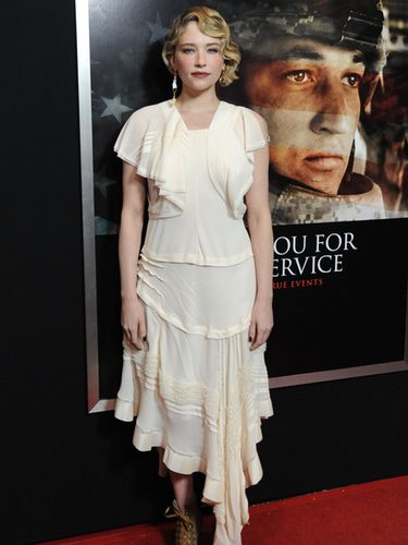 Haley Bennett en la premier de 'Thank you for your service' en Los Ángeles