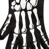 Guantes de esqueleto para niño de la colección especial Halloween de H&M