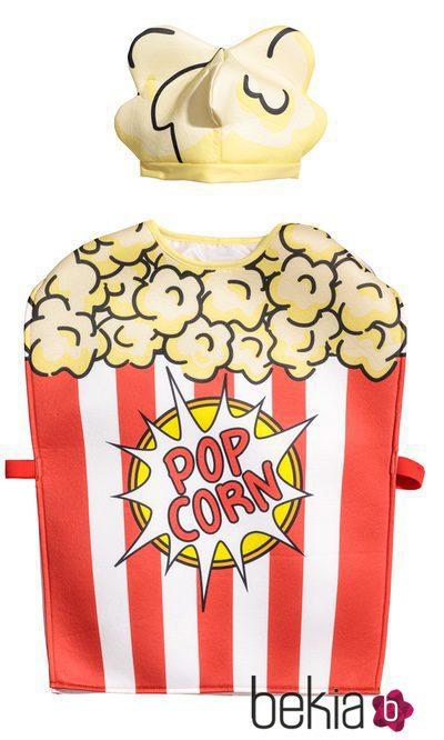 Disfraz de paquete de palomitas para niño de la colección especial Halloween de H&M