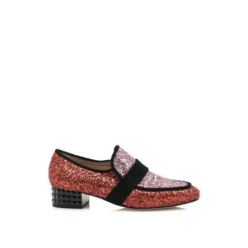 Zapato con brillo de la colección cápsula especial noche de HANNIBAL LAGUNA SHOES