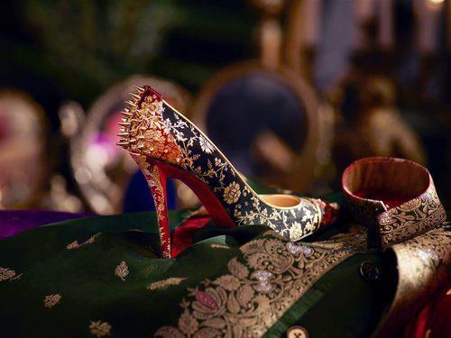 Stilettos estampados de la colección cápsula de Christian Louboutin