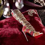 Botas altas de cuero de la colección cápsula de Christian Louboutin