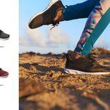 Zapatillas y leggin de la colección 'Sand to sea' de Roxy