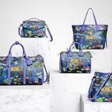 Distintos bolsos con diseño de la pintura MONET de la colección '#LVxKoons'