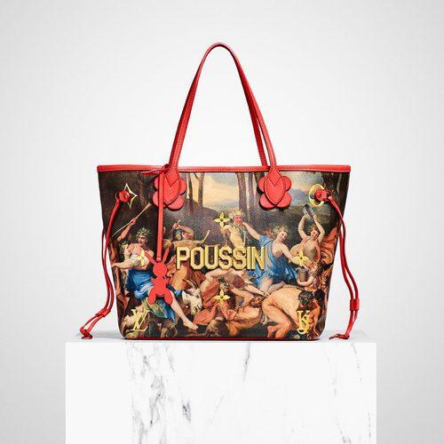 Bolso POUSSIN de la colección  '#LVxKoons'