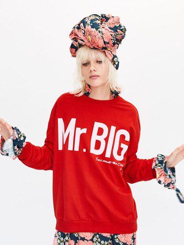Sudadera roja 'Mr. Big' de la edición 'Sexo en Nueva York' de Zara