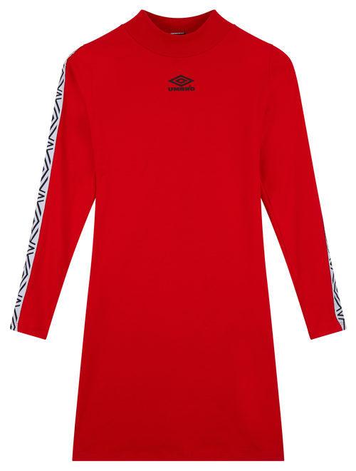 Vestido de cuello cerrado de la colección exclusiva Umbro para Asos