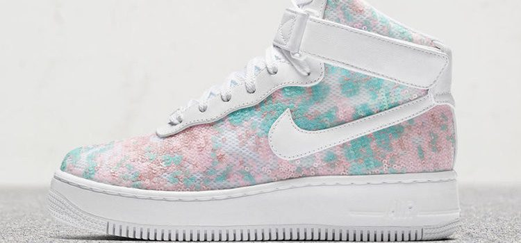 Zapatillas Nike Air force 'glass slipper'