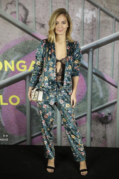 Laura Escanes posando en la fiesta 'Soy yo' de El Corte Inglés en Madrid