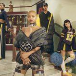 Campaña publicitaria de Fenty Puma x Rihanna de la colección otoño/invierno 2017