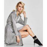Vestido plizaso de la colección 'Night Out' de Zara