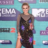 Tallia Storm con un look sobrecargado en los Premios MTV Europe Music Awards 2017