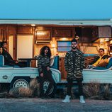 Prendas con estampado militar de 'Puma x XO' de The Weeknd colección otoño/invierno 2017/2018