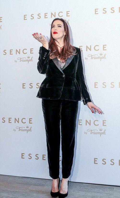 Liv Tyler en la presentación de la campaña 'Triumph Essence'