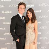 Looks de Jonathan Graff y Lea Michele en el premio Glamour a la Mujer del año