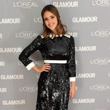Look de Jessica Alba en el premio Glamour a la Mujer del Año
