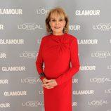 Look de Barbara Walters en el premio Glamour a la Mujer del Año