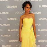 Look de Kerry Washington en el premio Glamour a la Mujer del Año