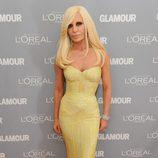 Look de Donatella Versace en el premio Glamour a la Mujer del Año
