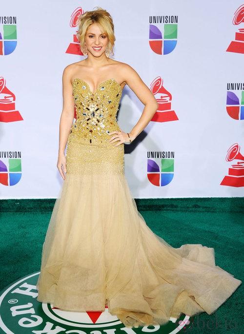Look de Shakira en los Grammy Latinos 2011
