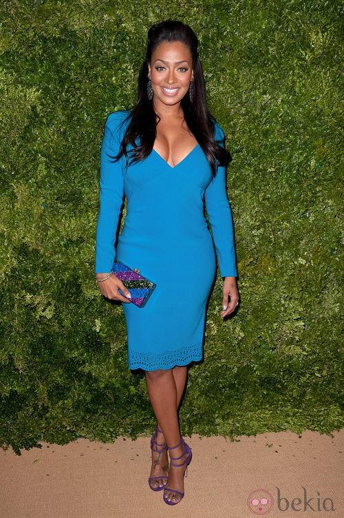 Look de LaLa Anthony en la fiesta de Vogue en Nueva York