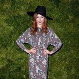 Look de Coco Rocha en la fiesta de Vogue en Nueva York