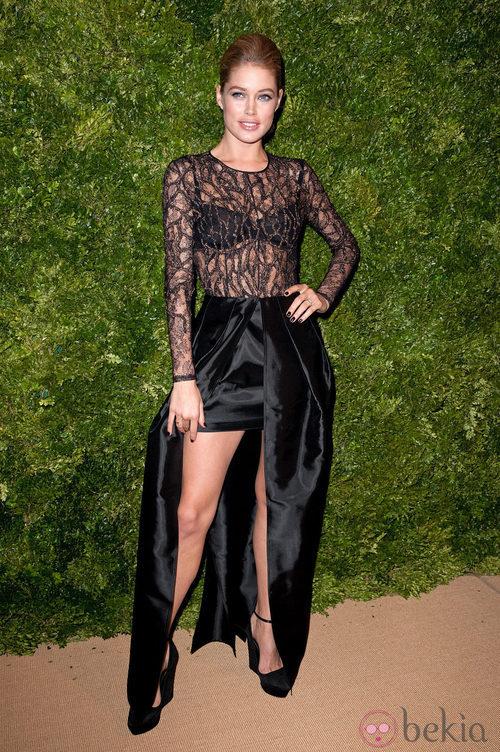 Look de Doutzen Kroes en la fiesta de Vogue en Nueva York