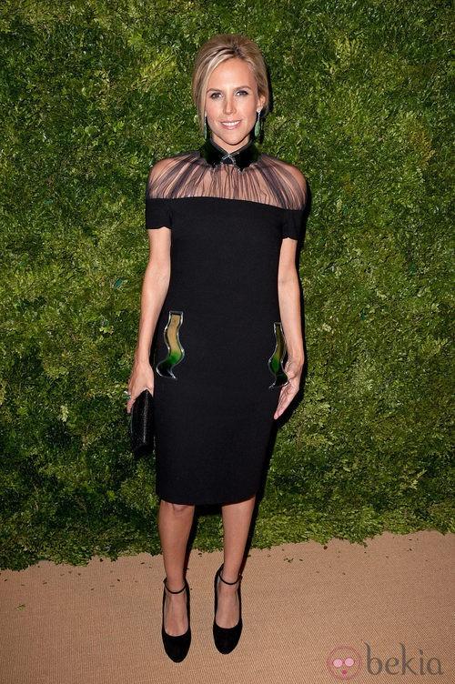 Look de Tory Burch en la fiesta de Vogue en Nueva York