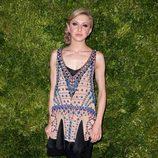 Look de Nina Arianda en la fiesta de Vogue en Nueva York
