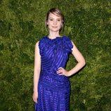 Look de Mia Wasikowska en la fiesta de Vogue en Nueva York
