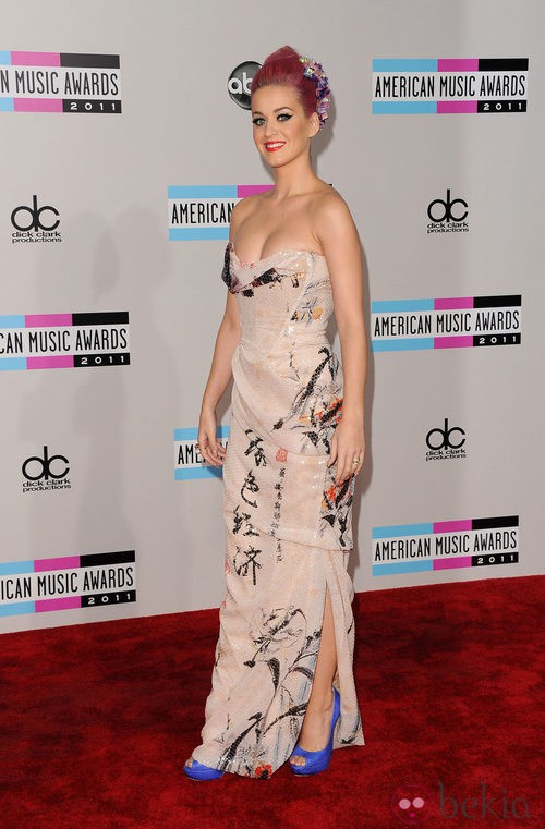 Look de Katy Perry en los AMA 2011