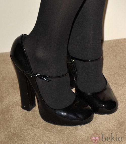 Block heels negros