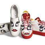 Zapatillas deportivas de la colección cápsula Tod's circus diseñada por Anna Dello Russo