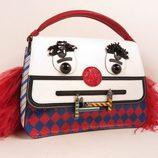 Bolso de mano de la colección cápsula Tod's circus diseñada por Anna Dello Russo