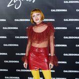 Miranda Makaroff en el 25 aniversario de Calzedonia en Madrid