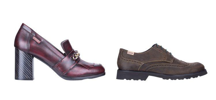Zapato abierto de tacón de la colección de Pikolinos otoño/invierno 2017