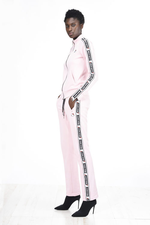 Chándal rosa de la colección de Hello Kitty diseñada por Pinko