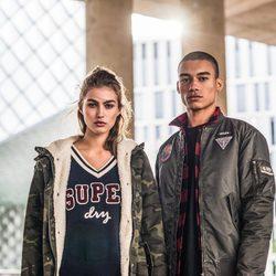 Colección de abrigos masculinos y femeninos de Superdry para otoño/invierno 2017